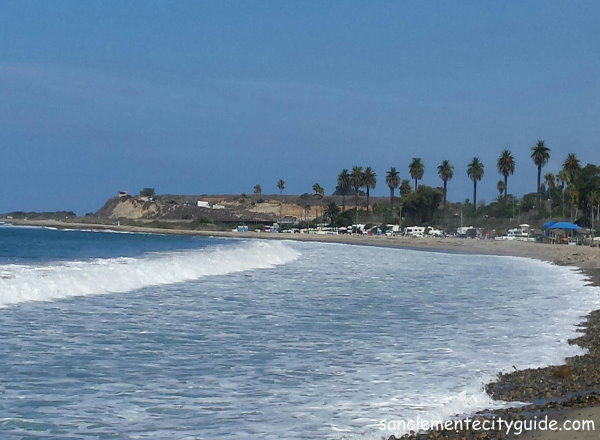 san onofre old mans beach surfing beach san clemente city guide